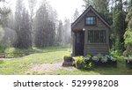 summer rain on a sustainable... | Shutterstock . vector #529998208