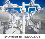 the area of the equipment to... | Shutterstock . vector #530003776