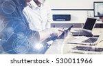concept of digital screen...   Shutterstock . vector #530011966