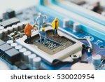miniature people network... | Shutterstock . vector #530020954