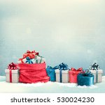 holiday christmas background... | Shutterstock .eps vector #530024230