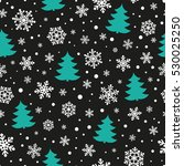 seamless pattern with... | Shutterstock .eps vector #530025250
