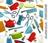 kitchenware  dishware seamless