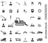 loader icon. construction icons ... | Shutterstock .eps vector #530030050