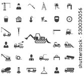 loader icon. construction icons ... | Shutterstock .eps vector #530030056