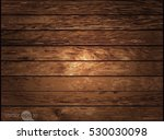 dark wood texture. vector   | Shutterstock .eps vector #530030098