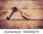 business concept   old key...   Shutterstock . vector #530030674