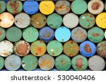 Colorful Old Steel Tank   ...