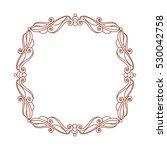 decorative frames .vintage... | Shutterstock .eps vector #530042758