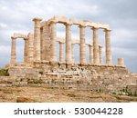 Ruins Of An Ancient Greek...
