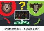 binary options bulls bears... | Shutterstock .eps vector #530051554