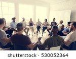 people meeting seminar office... | Shutterstock . vector #530052364