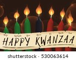 banner for kwanzaa with... | Shutterstock .eps vector #530063614