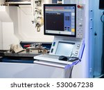 high precision cnc gas cutting... | Shutterstock . vector #530067238