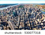 aerial view of the skyscrapers... | Shutterstock . vector #530077318