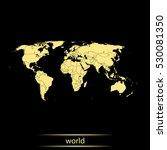 map of world    Shutterstock .eps vector #530081350