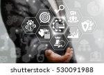 industry 4.0 business concept.... | Shutterstock . vector #530091988