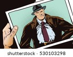 stock illustration. people in... | Shutterstock .eps vector #530103298