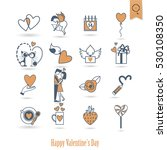 simple flat icons collection...   Shutterstock .eps vector #530108350