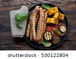 Grilled Sausages  Sweetcorn An...
