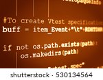 programming code abstract... | Shutterstock . vector #530134564