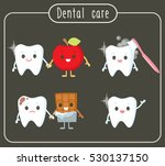 dental care for kids | Shutterstock .eps vector #530137150