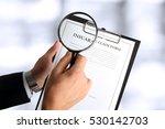 man looking through a ...   Shutterstock . vector #530142703
