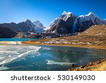 gurudongmar lake in north... | Shutterstock . vector #530149030