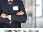 the business man in a modern... | Shutterstock . vector #530150650