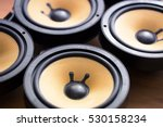tweaking audio. audio speakers... | Shutterstock . vector #530158234