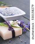 cosmetic creams  bath salt ... | Shutterstock . vector #530158279