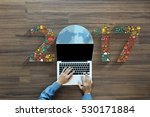 2017 new year business... | Shutterstock . vector #530171884