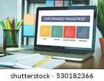 performance management icon... | Shutterstock . vector #530182366