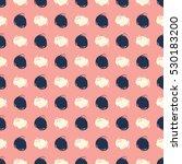 vector seamless pattern.... | Shutterstock .eps vector #530183200