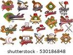 baseball label   Shutterstock .eps vector #530186848
