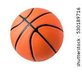 basketball isolated. | Shutterstock . vector #530189716