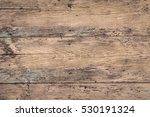 Old Rural Wooden Wall  Detaile...