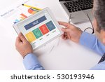 value concept on tablet screen | Shutterstock . vector #530193946