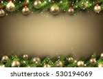 new year background with golden ... | Shutterstock .eps vector #530194069