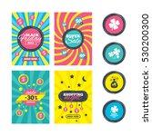 sale website banner templates.... | Shutterstock .eps vector #530200300