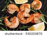 Grilled Tiger Shrimps With...