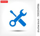 tool vector icon 10 eps | Shutterstock .eps vector #530204986