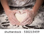 Cooking With Love. Female Hands ...
