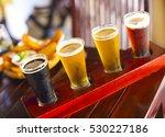 four sorts of beer. beer... | Shutterstock . vector #530227186