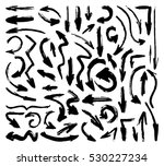 hand drawn paintbrush vector... | Shutterstock .eps vector #530227234