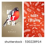 christmas and new year's... | Shutterstock .eps vector #530228914