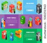 vending food and drinks... | Shutterstock . vector #530251963