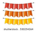bright banner as bunting flags... | Shutterstock .eps vector #530254264