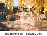 christmas or new year party...   Shutterstock . vector #530282050