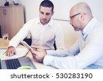 looking at data | Shutterstock . vector #530283190